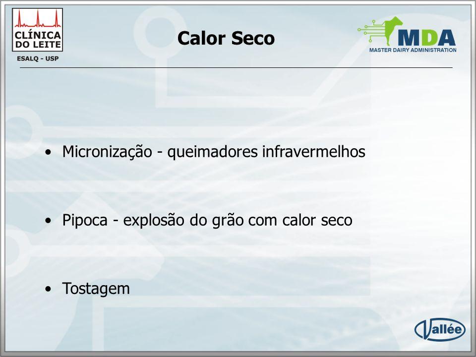 Calor Seco Micronização - queimadores infravermelhos