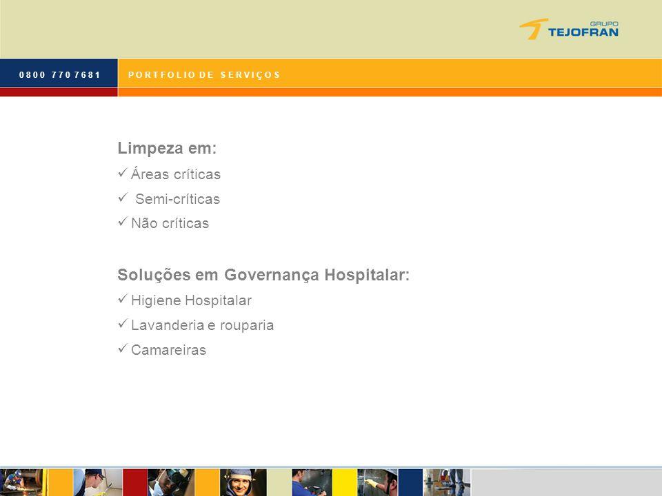 Soluções em Governança Hospitalar: