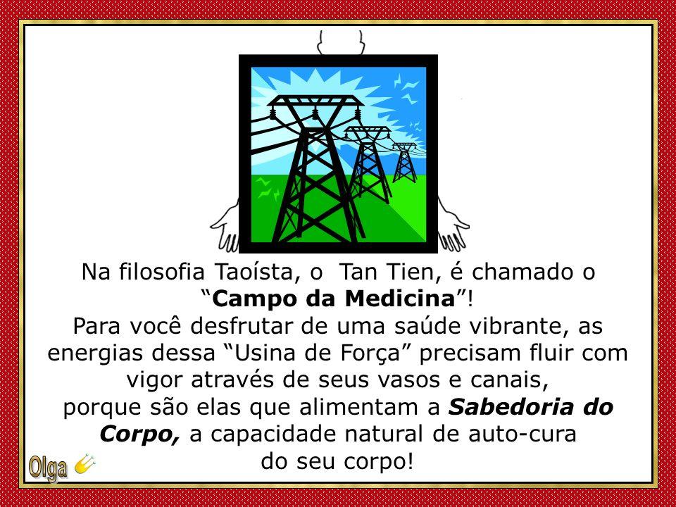 Na filosofia Taoísta, o Tan Tien, é chamado o Campo da Medicina !