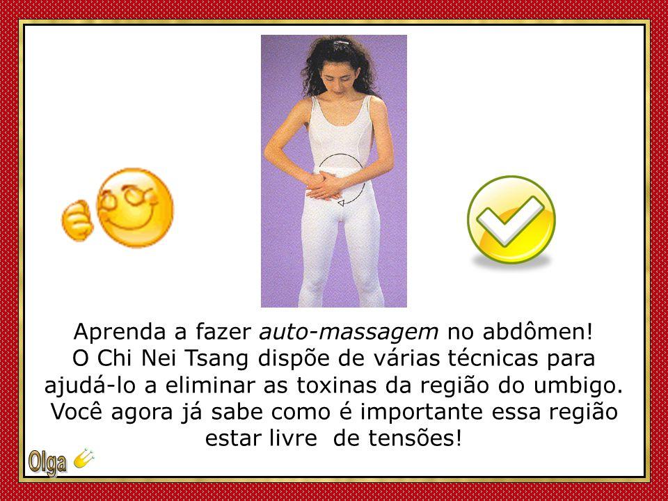 Aprenda a fazer auto-massagem no abdômen!