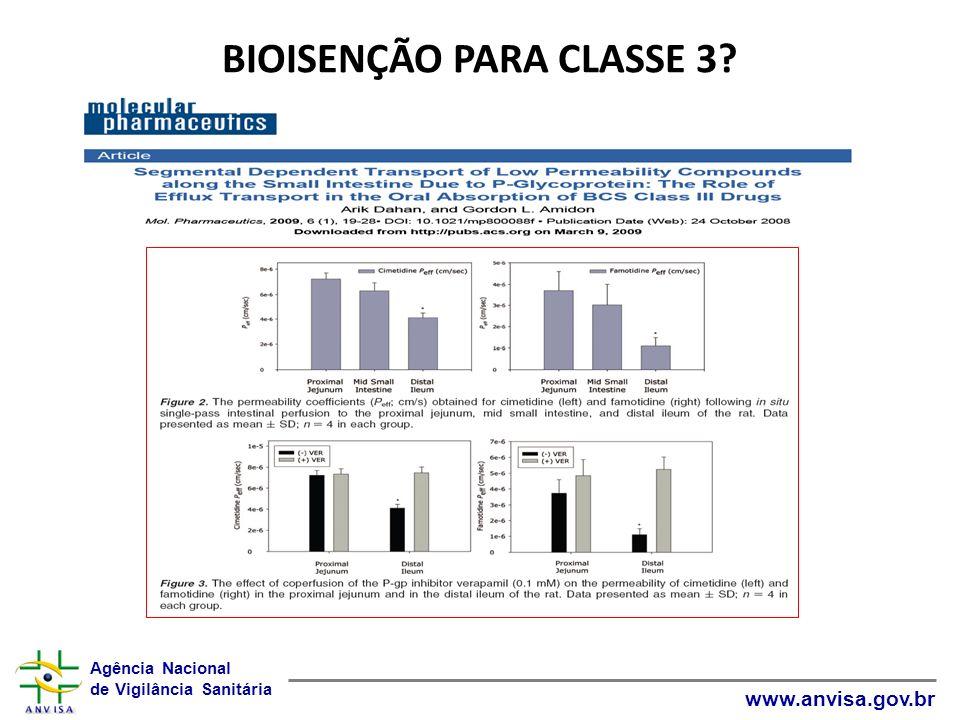 BIOISENÇÃO PARA CLASSE 3