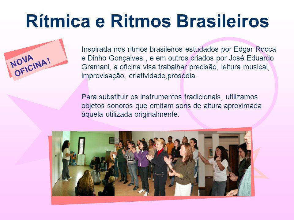 Rítmica e Ritmos Brasileiros