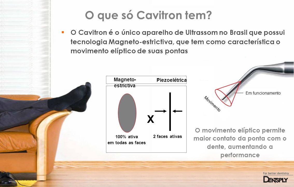 O que só Cavitron tem