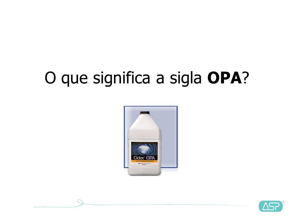 O que significa a sigla OPA