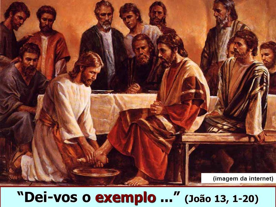 Dei-vos o exemplo ... (João 13, 1-20)