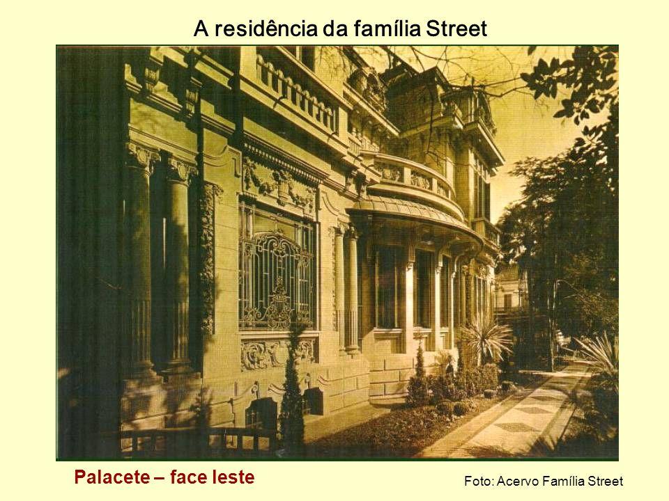 A residência da família Street