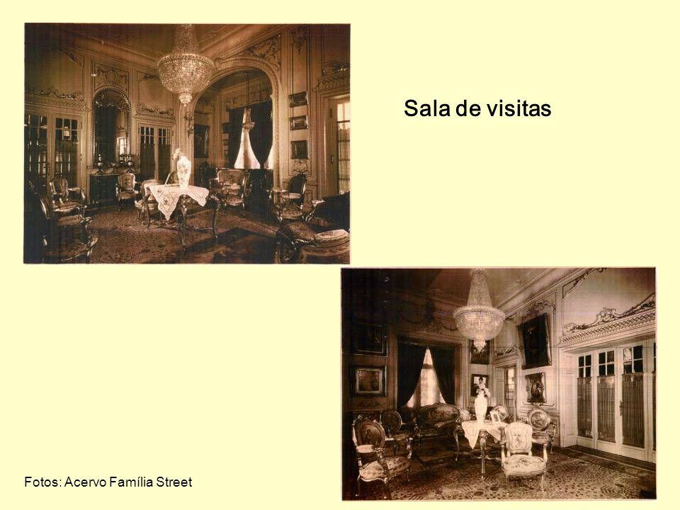 Sala de visitas Fotos: Acervo Família Street