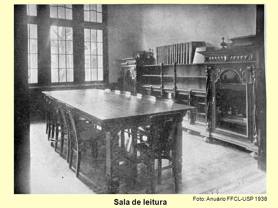 Foto: Anuário FFCL-USP 1938