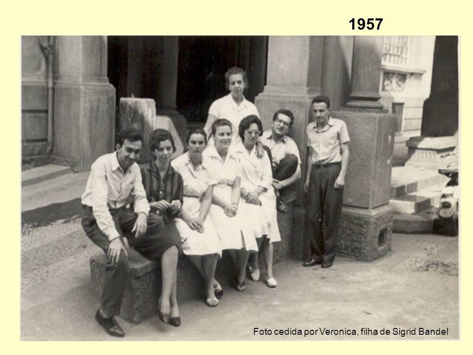 1957 Foto cedida por Veronica, filha de Sigrid Bandel