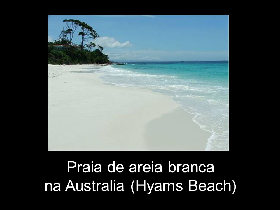 na Australia (Hyams Beach)