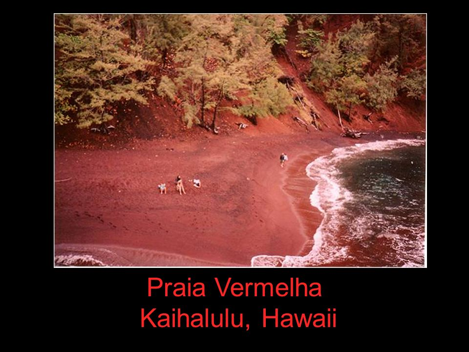 Praia Vermelha Kaihalulu, Hawaii