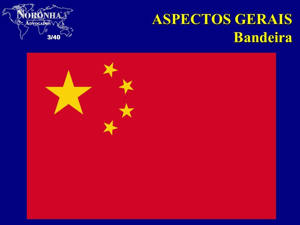 ASPECTOS GERAIS Bandeira