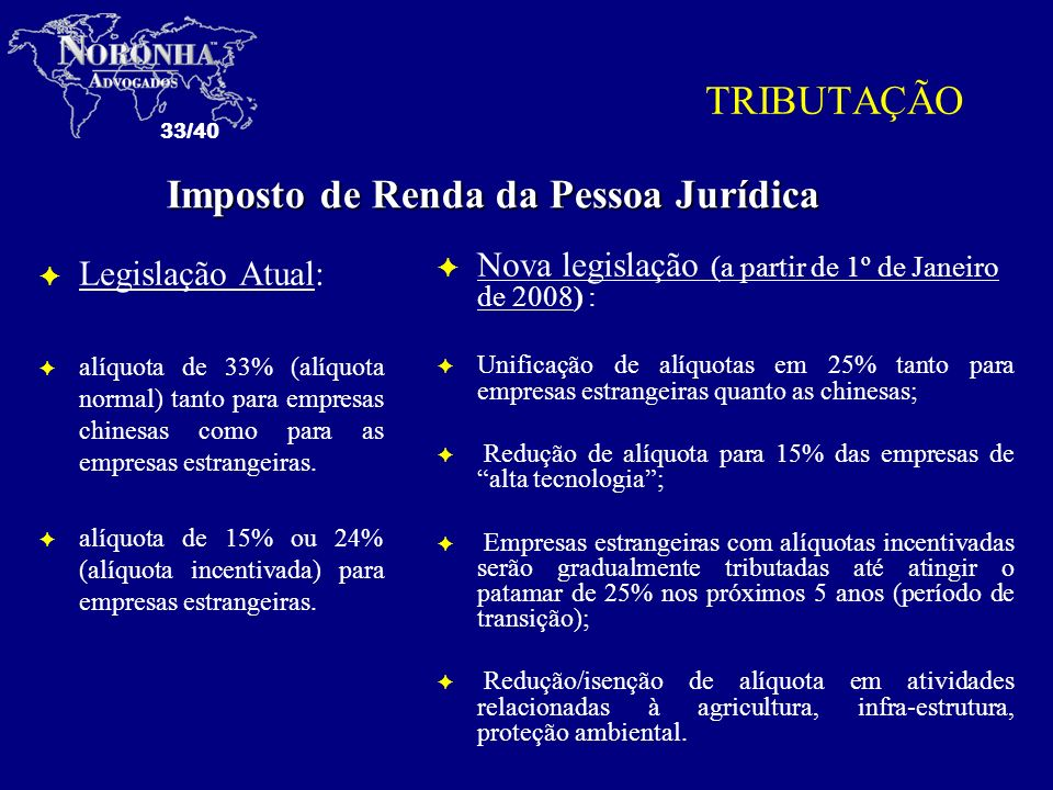 Imposto de Renda da Pessoa Jurídica