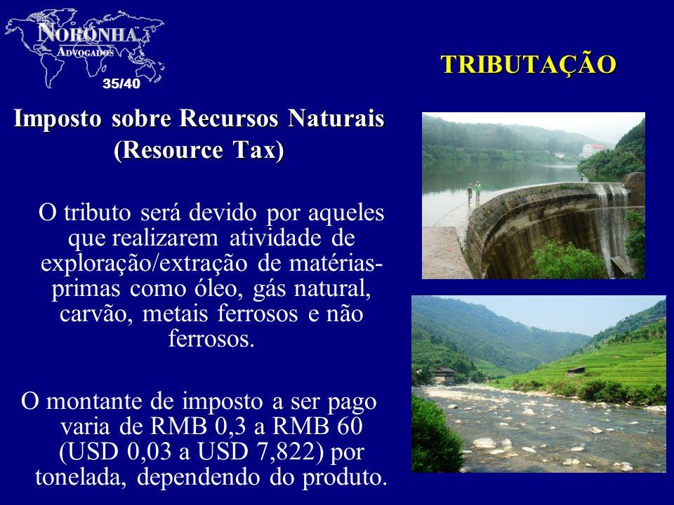 Imposto sobre Recursos Naturais