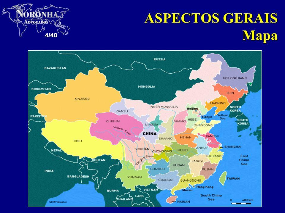 ASPECTOS GERAIS Mapa