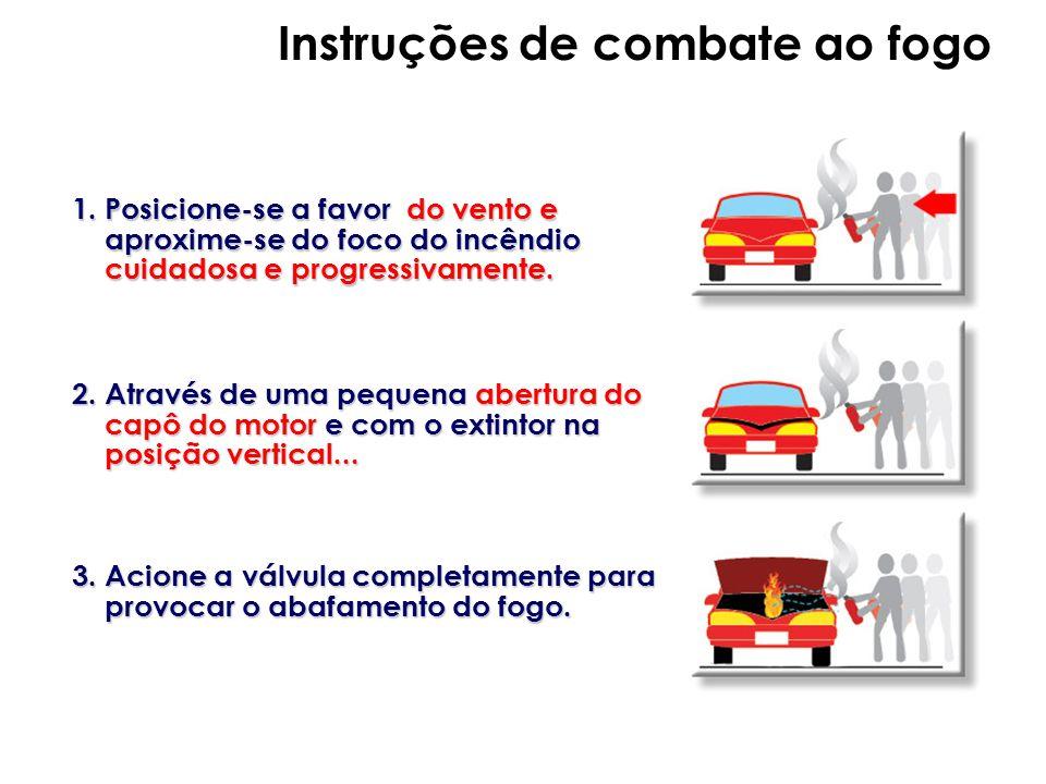 Instruções de combate ao fogo