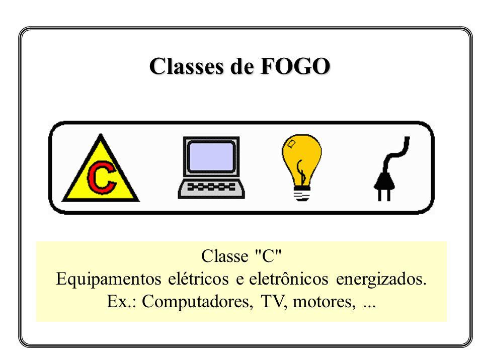 Classes de FOGO Classe C