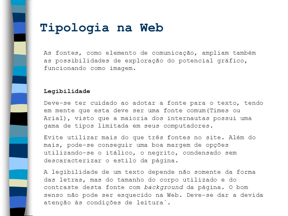 Tipologia na Web