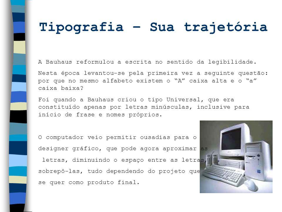 Tipografia – Sua trajetória