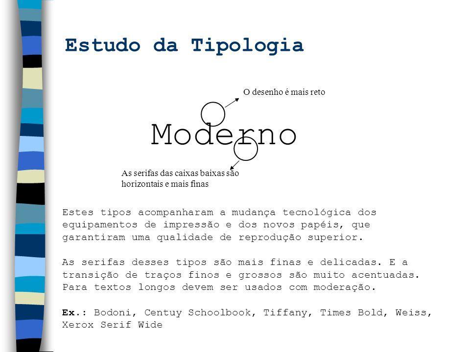 Moderno Estudo da Tipologia