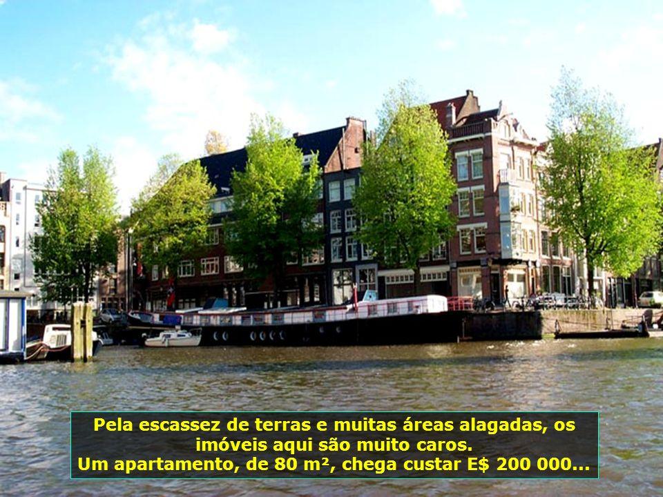 Um apartamento, de 80 m², chega custar E$ 200 000...