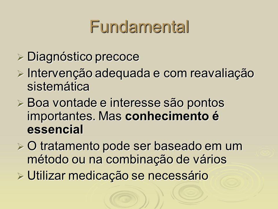 Fundamental Diagnóstico precoce