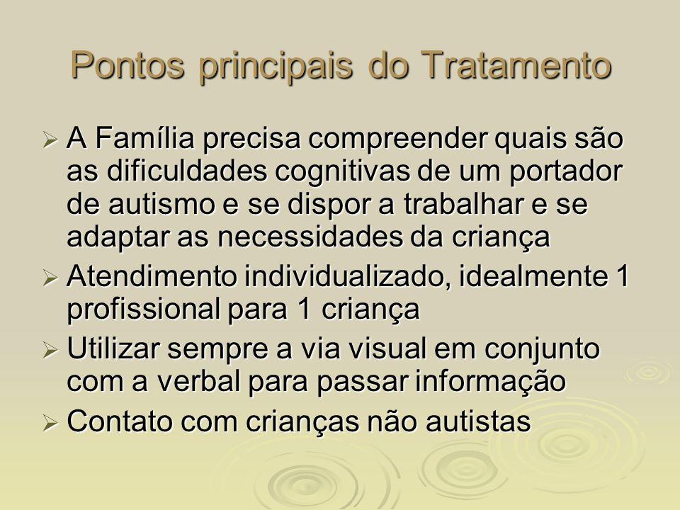 Pontos principais do Tratamento