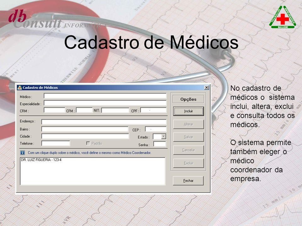 db Cadastro de Médicos Consult