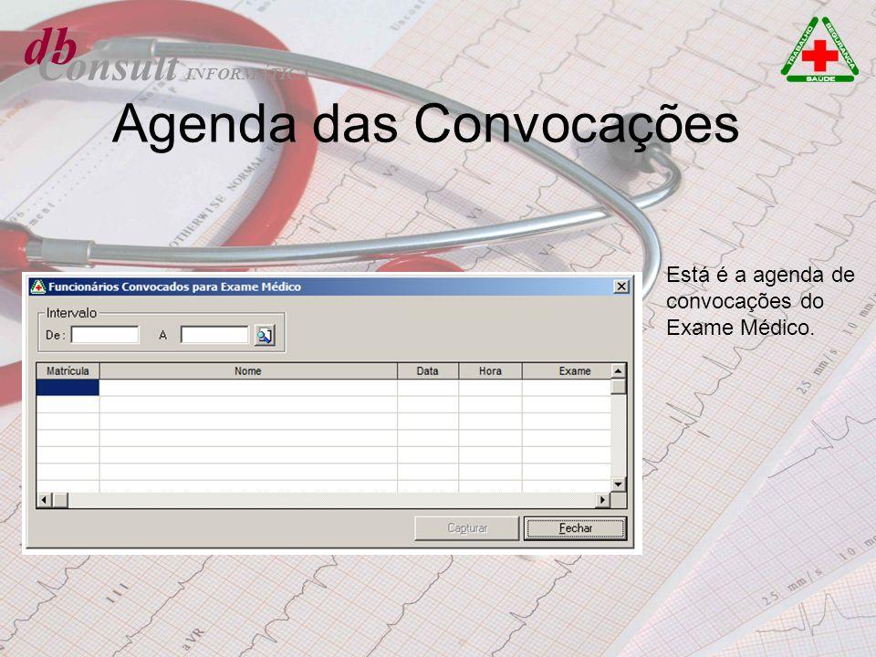 Agenda das Convocações