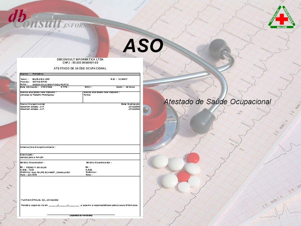 db Consult INFORMÁTICA ASO Atestado de Saúde Ocupacional