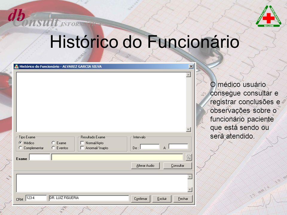Histórico do Funcionário