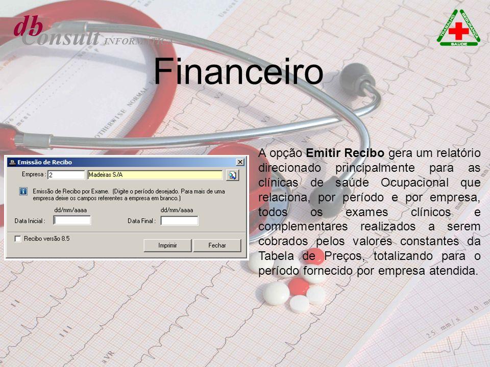 db Consult. INFORMÁTICA. Financeiro.