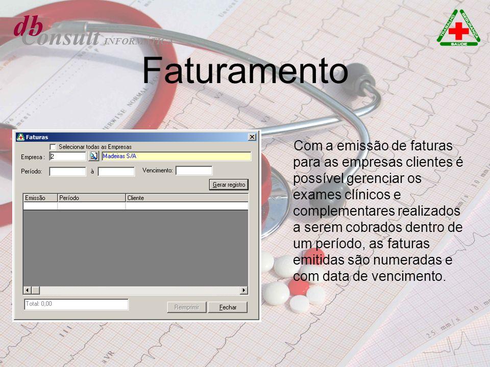Faturamento db Consult
