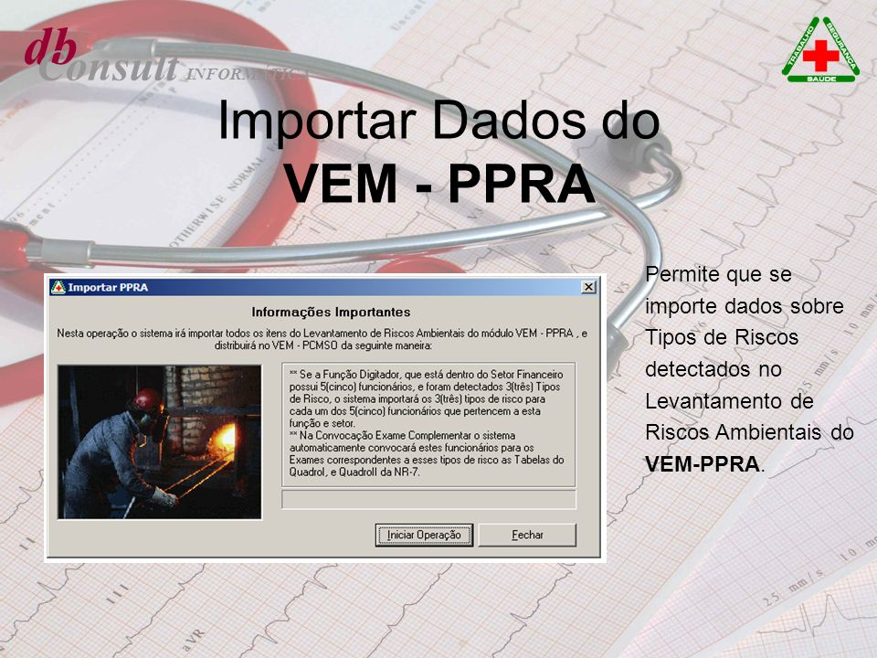 Importar Dados do VEM - PPRA