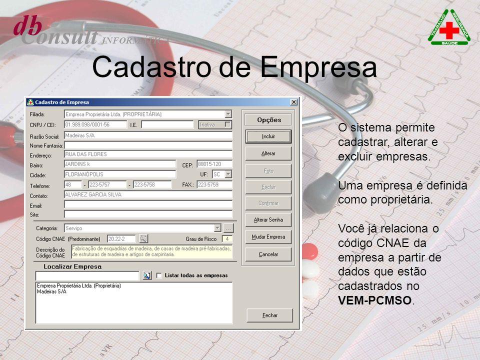 db Cadastro de Empresa Consult