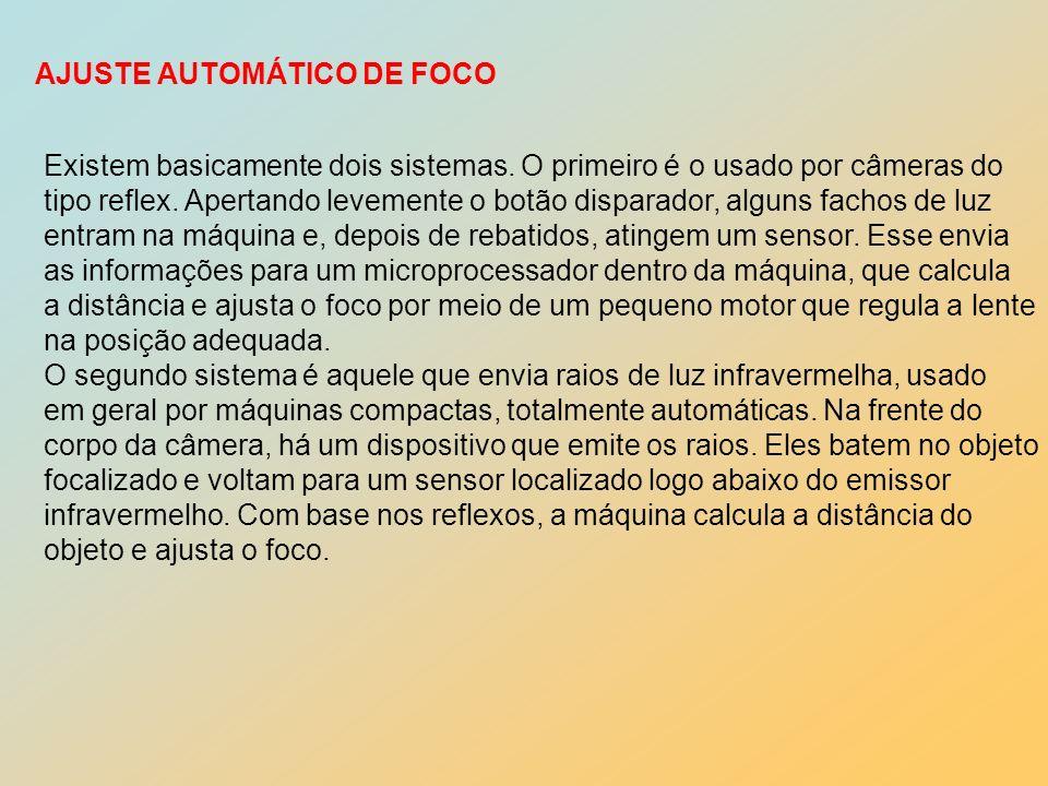 AJUSTE AUTOMÁTICO DE FOCO