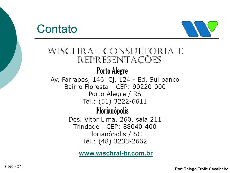 Contato Wischral Consultoria e Representações Porto Alegre