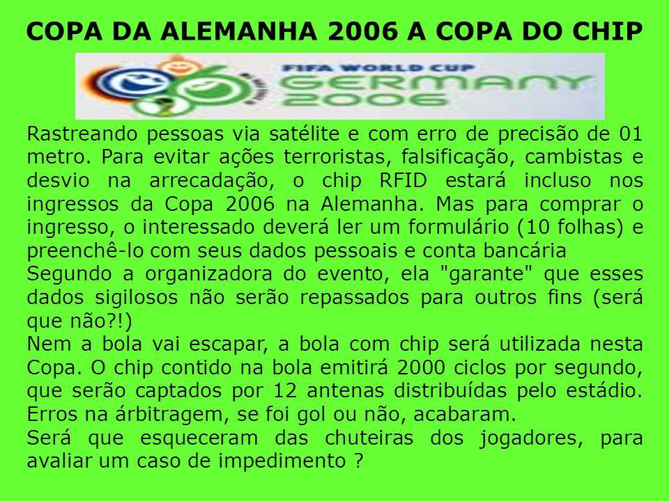 COPA DA ALEMANHA 2006 A COPA DO CHIP