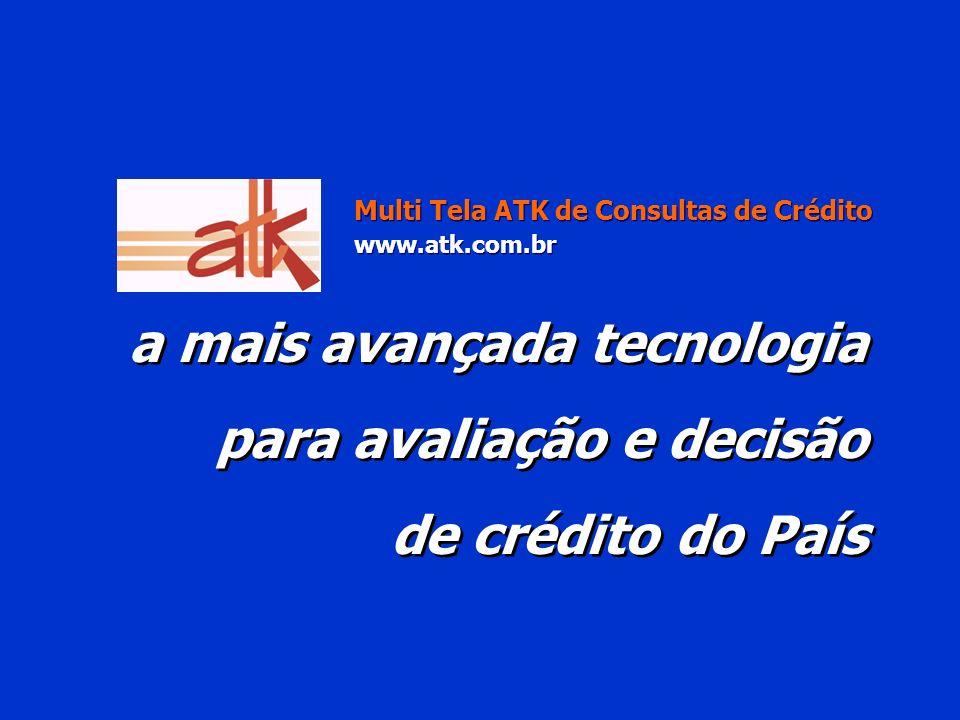 a mais avançada tecnologia para avaliação e decisão de crédito do País