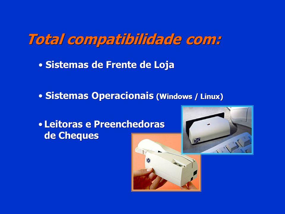 Total compatibilidade com: