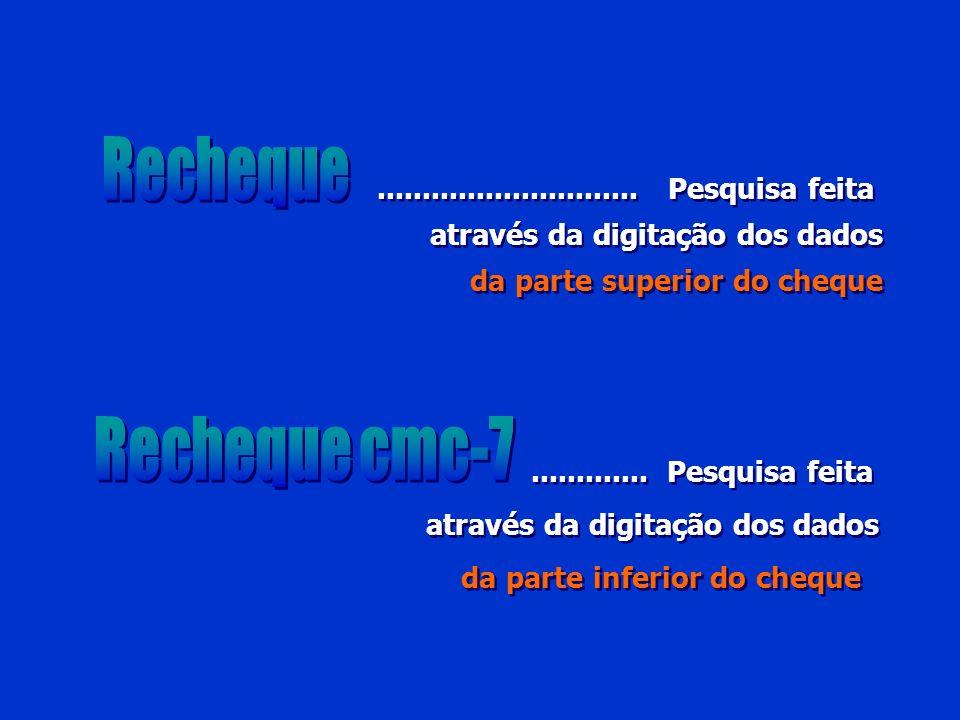 Recheque Recheque cmc-7