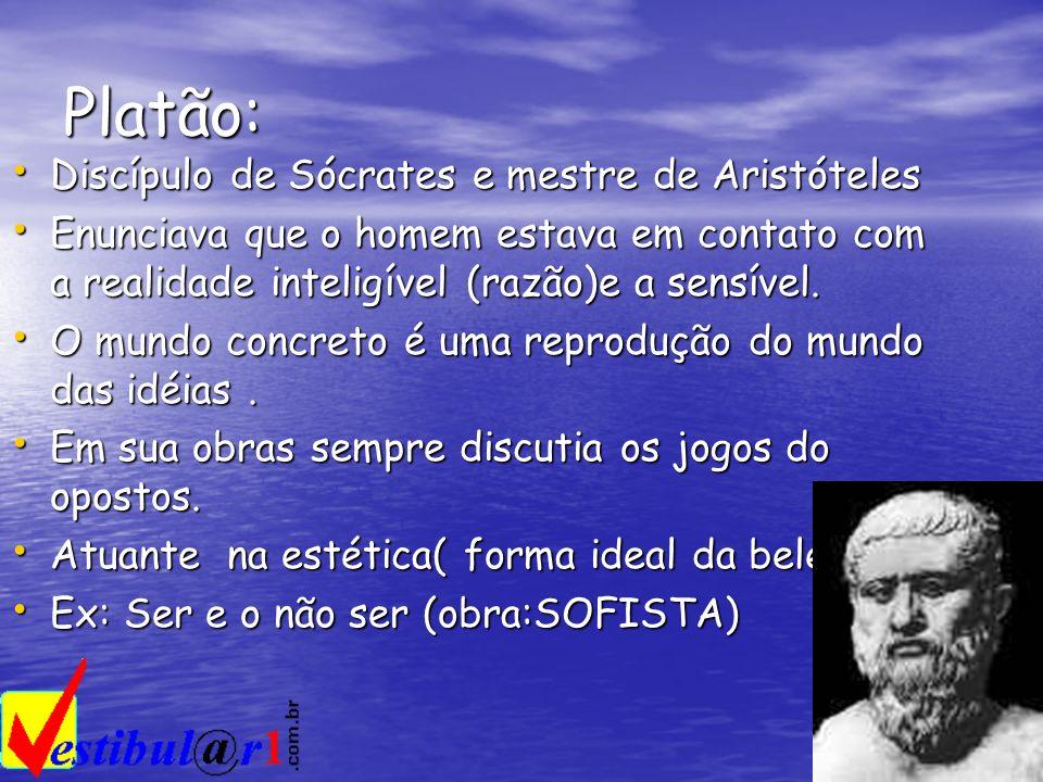 Platão: Discípulo de Sócrates e mestre de Aristóteles