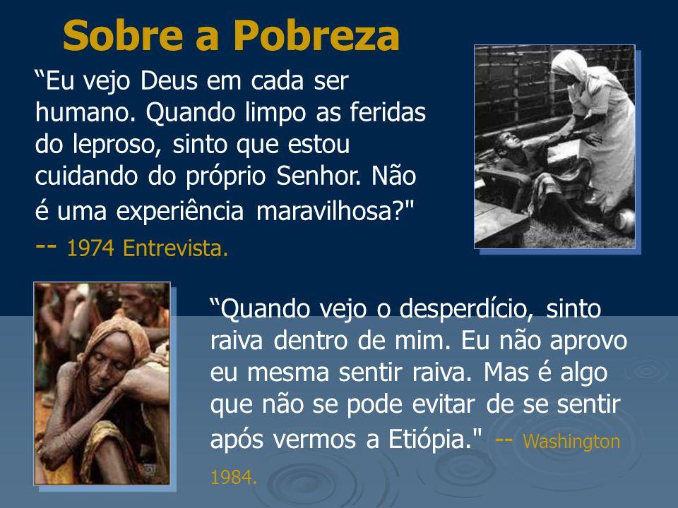 Sobre a Pobreza