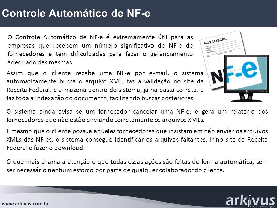 Controle Automático de NF-e