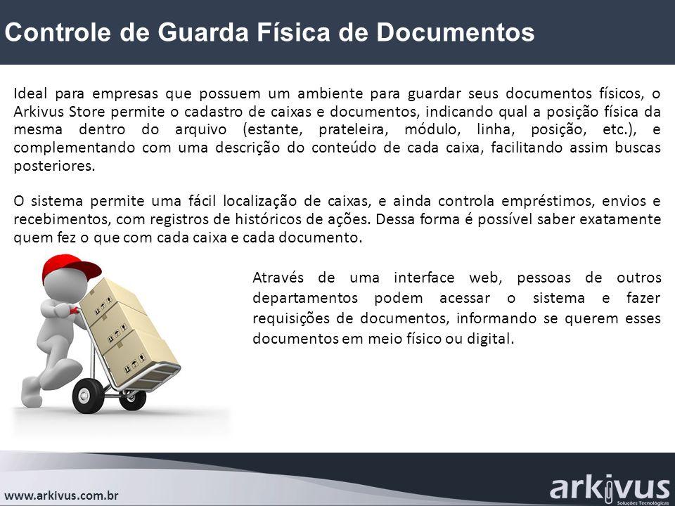 Controle de Guarda Física de Documentos