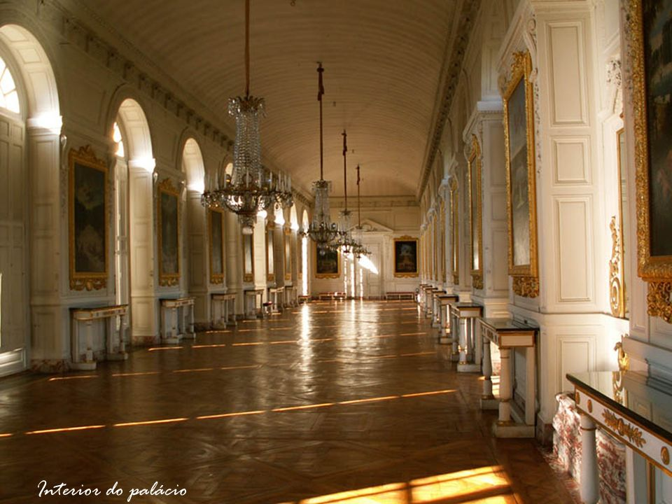 Interior do palácio