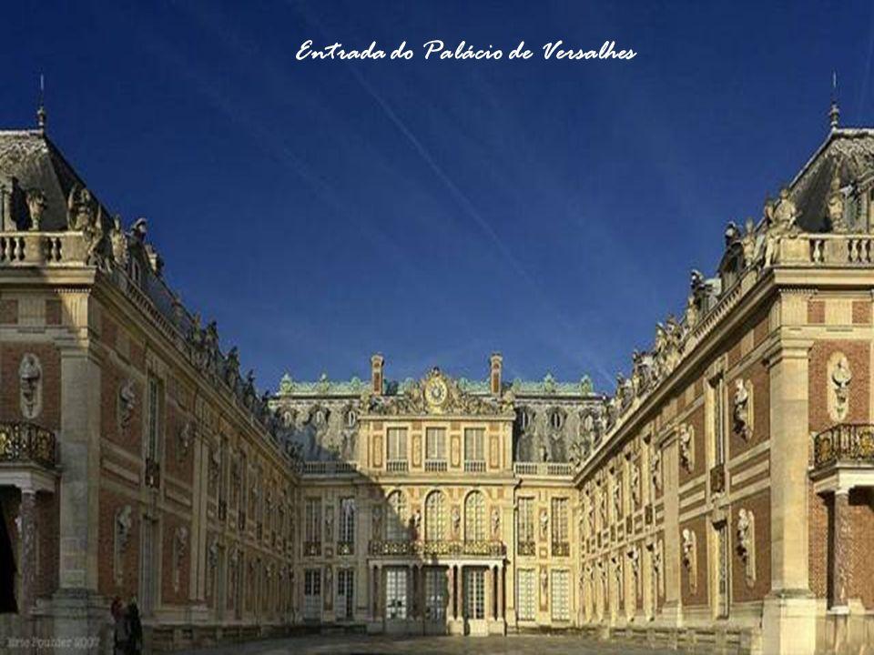 Entrada do Palácio de Versalhes