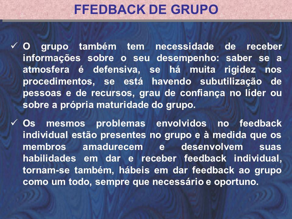 FFEDBACK DE GRUPO