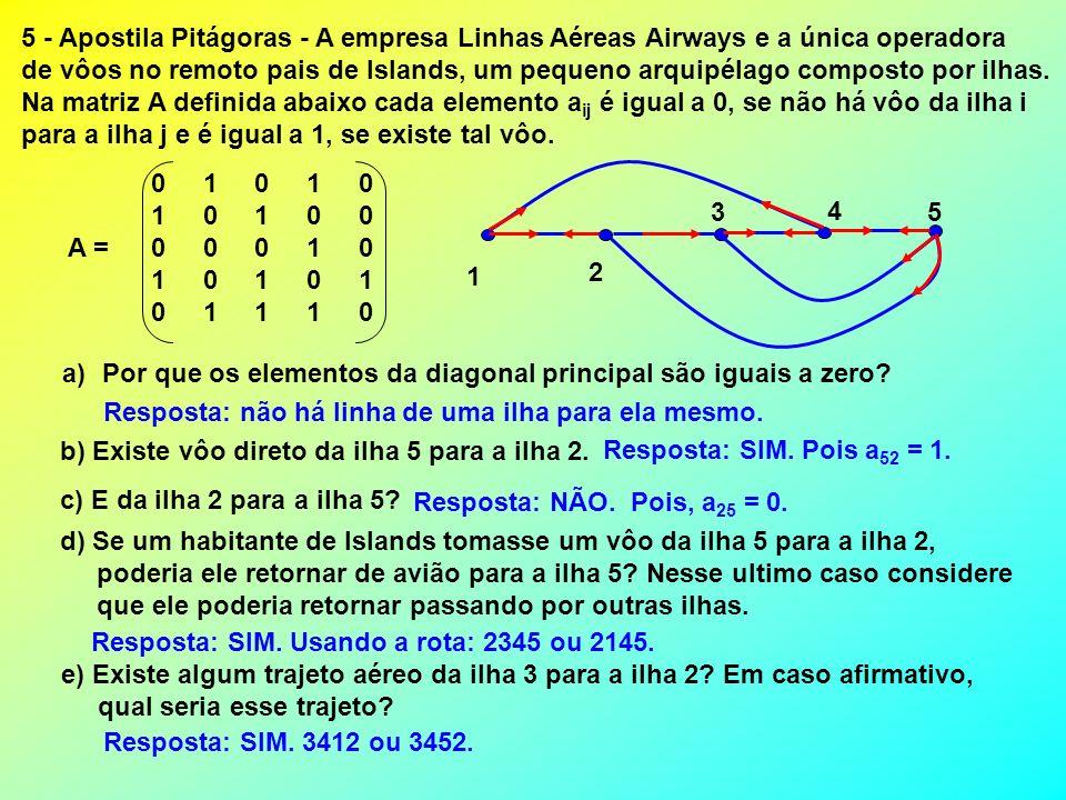 5 - Apostila Pitágoras - A empresa Linhas Aéreas Airways e a única operadora