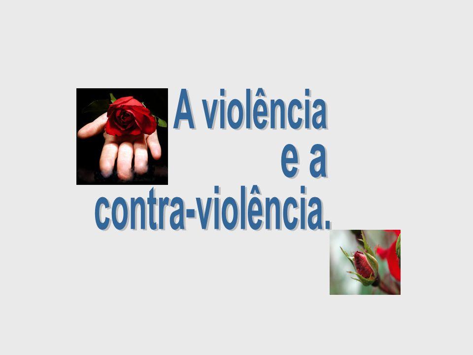 A violência e a contra-violência.